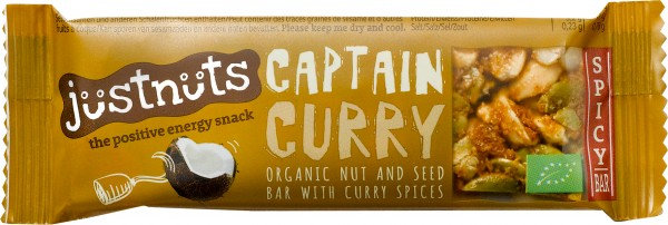 Schock s Bio Justnuts Captain Curry gf. 30 g